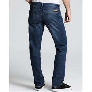 Burberry Brit Cavendish Straight Leg Denim Jeans